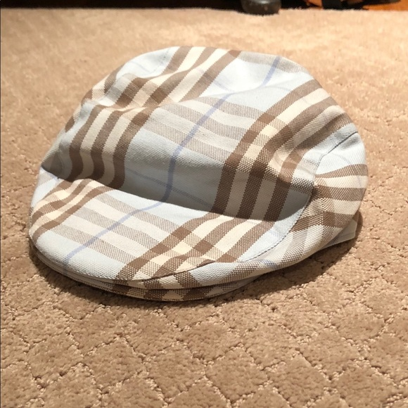 cab8d646 Burberry Accessories | Newsboy Hat Worn Onceperfect Condition | Poshmark